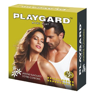 PLAYGARD MORE PLAY DOTTED CONDOMS JASMINE 3'S