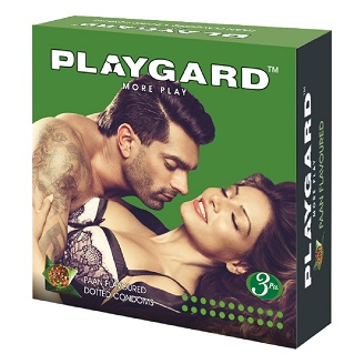 PLAYGARD MORE PLAY DOTTED CONDOMS PAAN  3'S