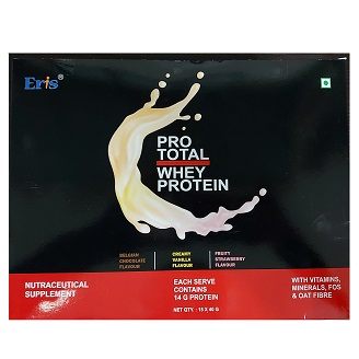 PROTOTAL WHEY PROTEIN COMBO PACK MIX 600GM