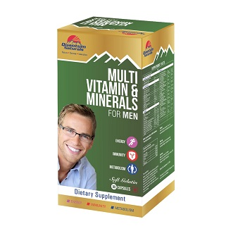 QUANTO MULTIVITAMIN & MINERALS MEN