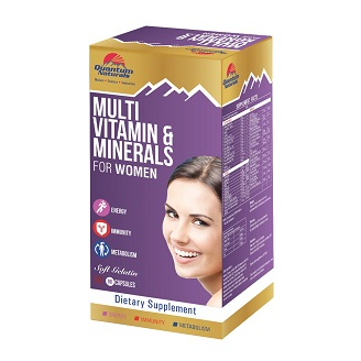 QUANTO MULTIVITAMIN & MINERALS WOMEN