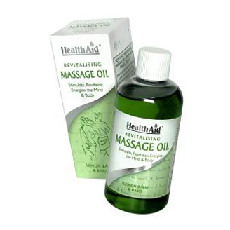 HEALTHAID REVITALISING MASSAGE OIL