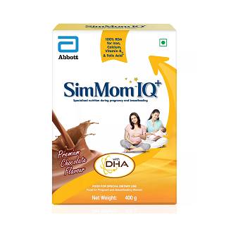 SIMMOM IQ CHOCOLATE REFILL 400GM