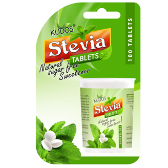 KUDOS STEVIA TABLETS {PACK OF 3}