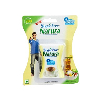 SUGAR FREE NATURA TABLET 200'S