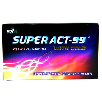 SUPER ACT 99 WITH GOLD CAPSULES
