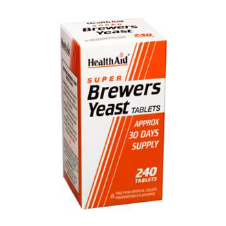 HEALTHAID SUPER BREWERS YEAST TABLET