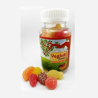 VEGIVIT JUNIOR - Multivitamin & Mineral Gummies