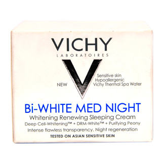 VICHY Bi WHITE MED NIGHT WHITENING RENEWING SLEEPING CREAM