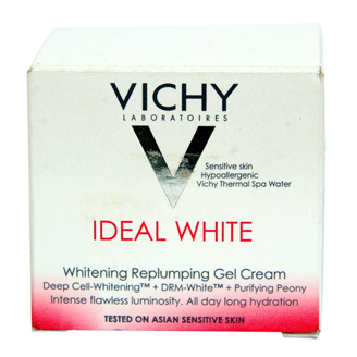VICHY IDEAL WHITE WHITENING REPLUMPING GEL CREAM