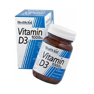 HEALTHAID VITAMIN D3 1000IU TABLET
