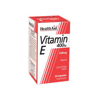 HEALTHAID VITAMIN E 400IU TABLET