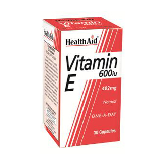 HEALTHAID VITAMIN E 600IU TABLET