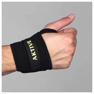 AKTIVE ORTHO'S WRIST BINDER WITH THUMB HOLE
